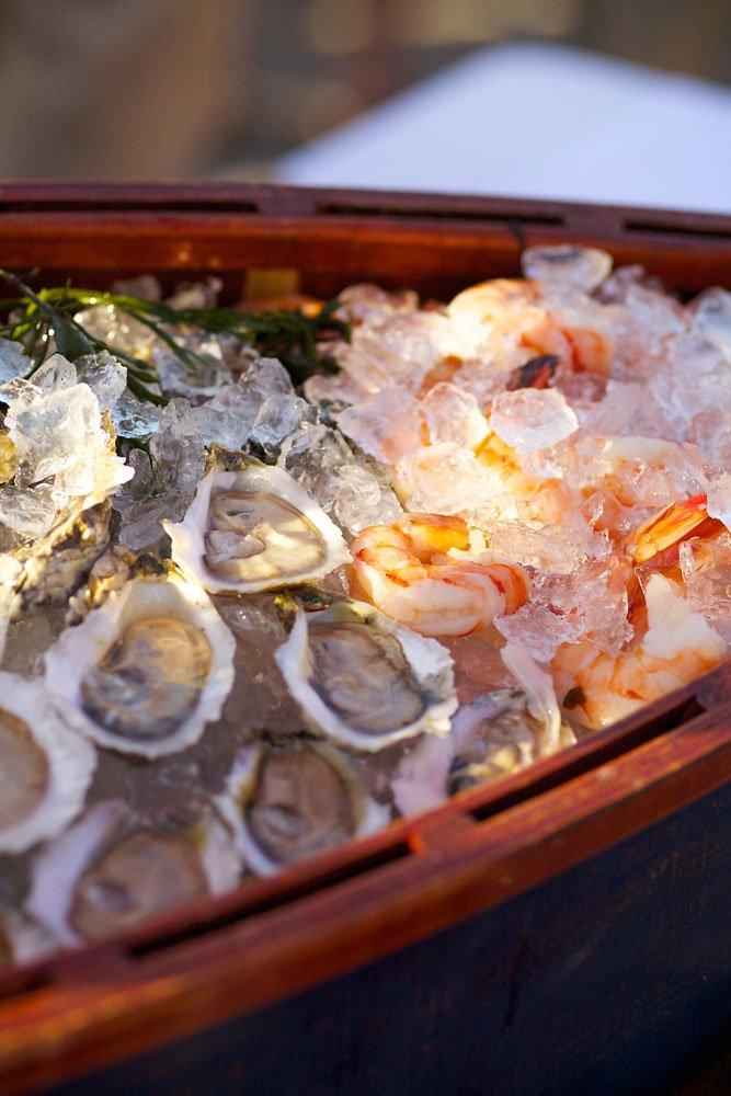 Raw Bar, Oysters, Shrimp, Seafood, Newburyport, New England