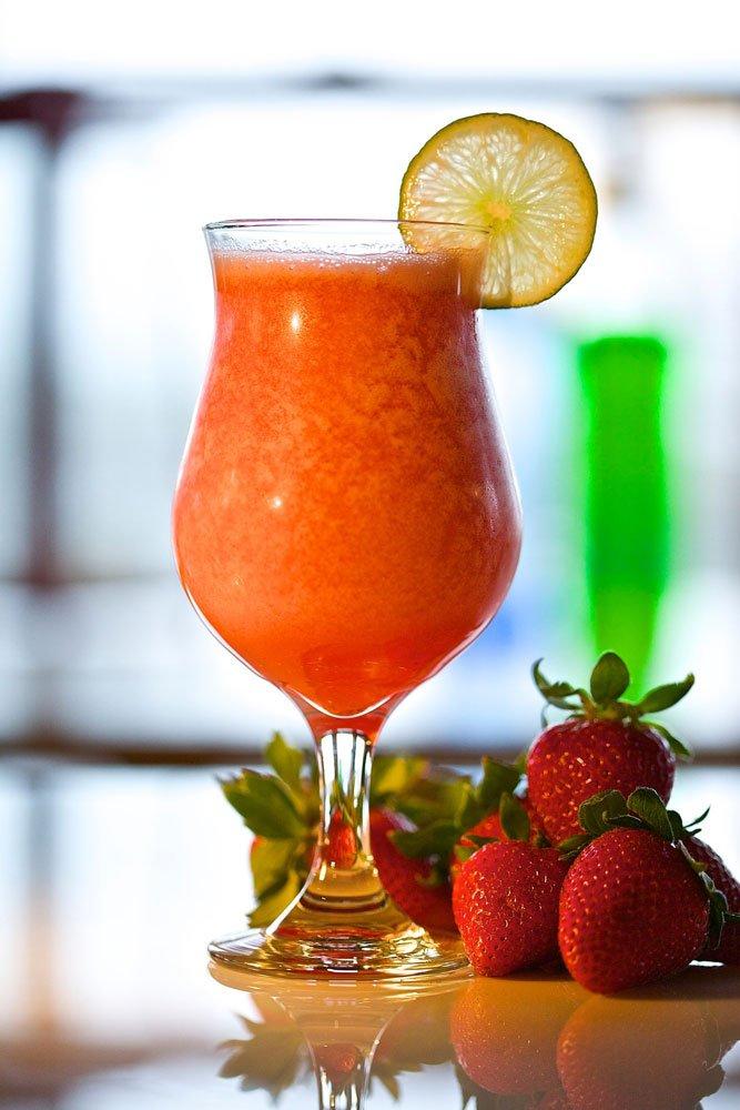 Cocktails, Strawberry, Daquiri, Alcohol