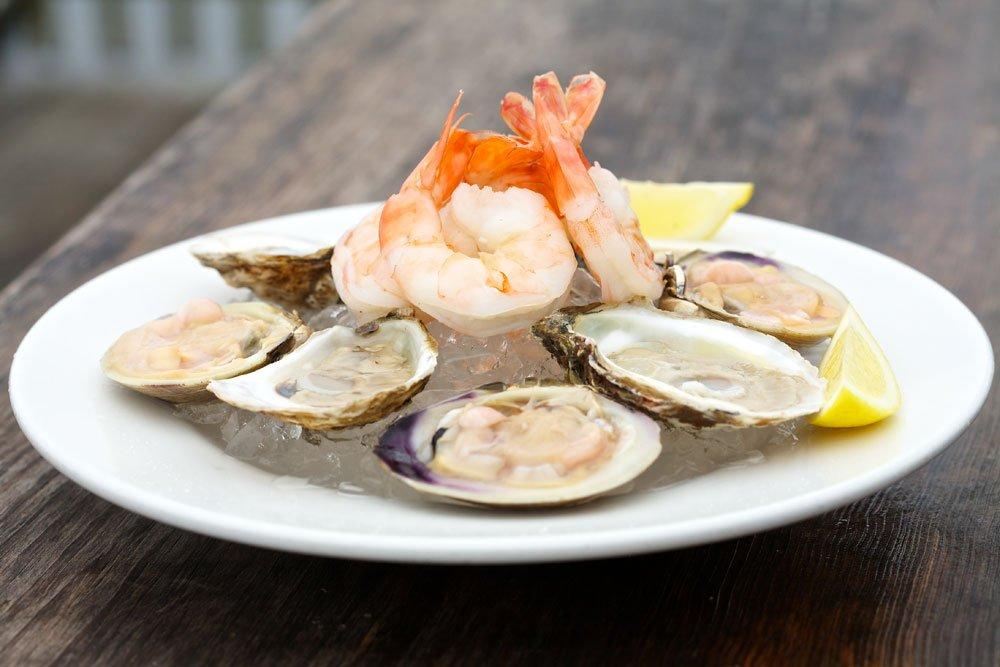 Shrimp, Oysters, Seafood, Newburyport, Dining